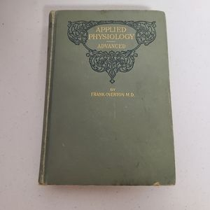 Antique Applied Physiology  1897 book